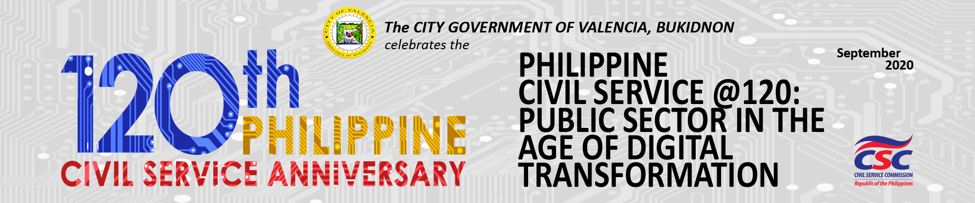 120th Civil Service Anniversary